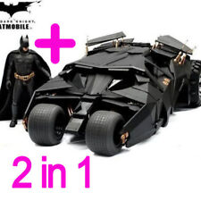 Two In One Awesome Batman Tumbler Batmobile Toy Action Figure PVC With Sticker
