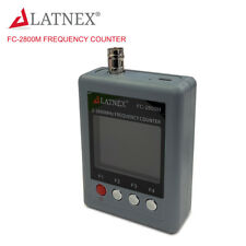 LATNEX FC-2800M Handheld 2MHz -2.8GHz WalkieTalkie 2-Way Radio Frequency Counter