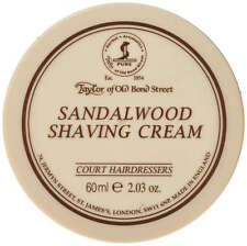 Taylor of Old Bond Street Sandalwood Shaving Cream Bowl 60ml / 2.03oz
