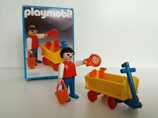 Playmobil 3356 -  Kid with tow car / Kind mit wagen (Klicky, Outline box, OVP)