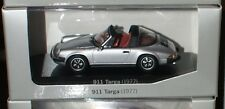 1:43 PORSCHE 911 Targa silber silver Innen:red rot MINICHAMPS History Collection