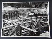 Photo 1945 construction viaduc PONT DE MULHOUSE Nogent sur Marne Le Perreux 10