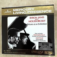 Byron Janis plays Moussorgsky Pictures Exhibition Antal Dorati CD LPCD45 Limited