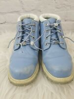 timberland boots size 8.5M blue, water proof