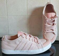 Womens Adidas Original Honey Lo Trainer Pumps -UK 4.5 Vapor Pink & White EX COND
