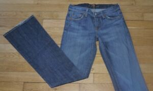 7 For All Mankind  Jeans  pour Femme  W 25 - L 32  Taille Fr 34 (Réf #T005)