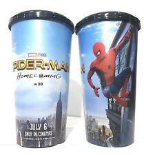2Pcs Marvel Studios Spider-Man Homecoming Movie Plastic Cup Cinemas Theatres