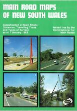 1983 Main Road Maps of New South Wales by Commissioner for Main Roads