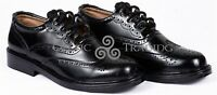 Scottish Ghillie Brogue KILT Shoes - 100%Genuine Leather KILT Shoes Size - 8-13