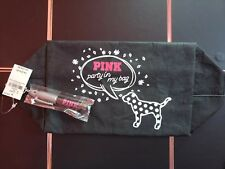 Nwt Victoria's Secret Pink Make your mark Cosmetic Makeup Bag with marker!
