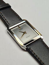 1984 SEIKO DOLCE WATCH VINTAGE 1984 LOVELY HIGH END DRESS WATCH GENTS NEW STRAP