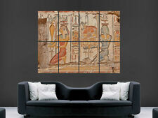 EGYPTIAN MARKINGS HIEROGLYPHICS  ART HUGE IMAGE  LARGE WALL POSTER PICTURE