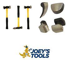7pc Body Repair Set Panel Beating Ding Dent Fender Hammer Dolly Tool Kit Car