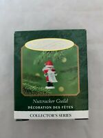 2000 Hallmark Keepsake Nutcracker Guild Miniature Christmas Ornament