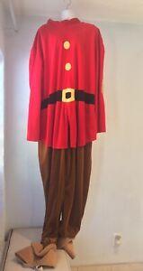 Disney Grumpy Costume Adult 2XL Fits Loosely Genuine Licensed Cosplay Dwarf