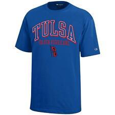Champion NCAA Tulsa Golden Hurricane Youth Boys Short Sleeve Jersey T-Shirt XL
