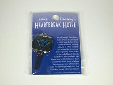 Elvis Heartbreak Hotel Key Keychain  - Memphis - Graceland - Last Of Inventory
