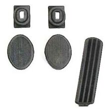 Pedal & Draft Seal Set for 1949-1954 Plymouth - Dodge
