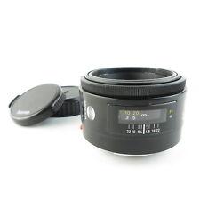 Minolta AF 1:1.7(22)  50mm Objektiv lens + caps