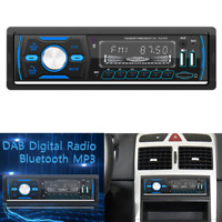 Car Radio Stereo 1Din Bluetooth AM FM Audio Music Player DAB/MP3/USB/AUX In-dash