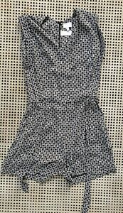 ❤️ WITCHERY Summer Sleeveless Romper Multicolor Size 8 Buy7=FreePost L866