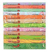 2 Packs All Natural Auroshikha Agarbathies Incense 20 Sticks 20 grams Fragrances