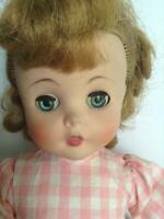 Vintage ORIGINAL1957  Madame Alexander 15 Inch  Edith The Lonely Doll Original