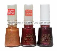 REVLON Nail Polish/Enamel COLOR ILLUSION Limited Edition RARE New! *YOU CHOOSE*