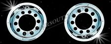 """TRUCK WHEEL TRIMS STAINLESS STEEL 22.5"""" REAR SET [TRUCK PARTS AND ACCESSORIES]"""
