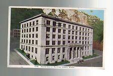1941 Juneau Alaska to Portland Capitol Building Real Picture Postcard Cover