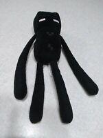 "Mojang Minecraft Plush Black Enderman 10"" Stuffed Toy"