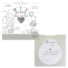 Hugs and Kisses Baby's Last Feed Timer Wheel Card