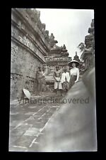 Java Indonesia Borobudur 1912 Vintage Original Film Negative Photo