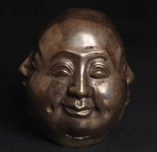 4 face Maitreya Buddha head! happy, anger, sad, joy