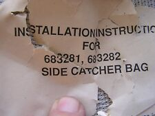 NEW OEM Lawn-Boy Grass Collector Bag 683281 683282 Scamp LOTS More Listed