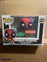 Funko Pop! Deadpool Mermaid 321 Target NEW PROTECTOR Marvel