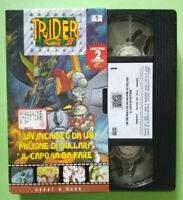 VHS Ita Animazione TRIDER G7 1 hobby work 2 episodi g 7 no dvd cd lp mc 45(V159)