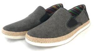 Men UGG Australia Wilton Nubuck Slipper 1002239 Black 100% Original Brand New