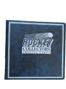 Ultra Pro Hockey Trading Card Album + 80 Ultra Pro 9 Pocket Storage Pages
