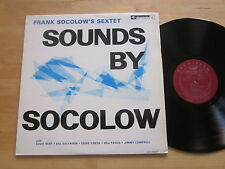 Frank Socolow's Sextet - Sounds By Socolow LP Bethlehem Spain Ultrasonic VG++/NM