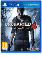 UNCHARTED 4 A THIEFS END PS4 BRAND NEW FAST DELIVERY!