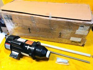 Neu DAYTON 32V136 316SS 1/2 HP 1725 RPM 115/208-230 VAC Trommel Mixer Komplett
