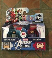 Marvel Minimates BLACK BOLT & MEDUSA Walgreens Avengers Assemble Inhumans