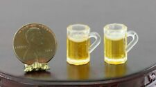6 Pack Collectable Dollhouse Miniature Budweiser Beer FREE Beer Mug 1:12