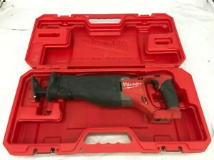 Milwaukee 6519-31 Reciprocating Saw Sawzall Heavy Duty Case, G