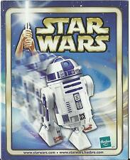 STAR WARS HASBRO TOY CATALOGUE 2002 – R2 D2 - R2D2