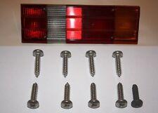FORD CAPRI MK2 / MK3 STAINLESS STEEL REAR LIGHT LENSE SCREWS