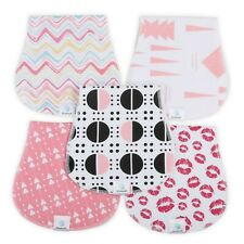 Burp Cloths Made of 100% Organic Cotton and Fleece layers - Soft & Absorbent Cur