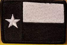 TEXAS Flag Patch W/ VELCRO® Brand Fastener Tactical Morale Texan Emblem #7