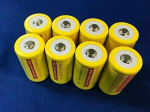 """8 of Hitech """"D"""" size 4000mAh Rechargeable NiCd Consumer Batteries*up to 60% OFF"""